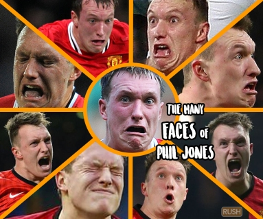 The Many Faces of Phil Jones!