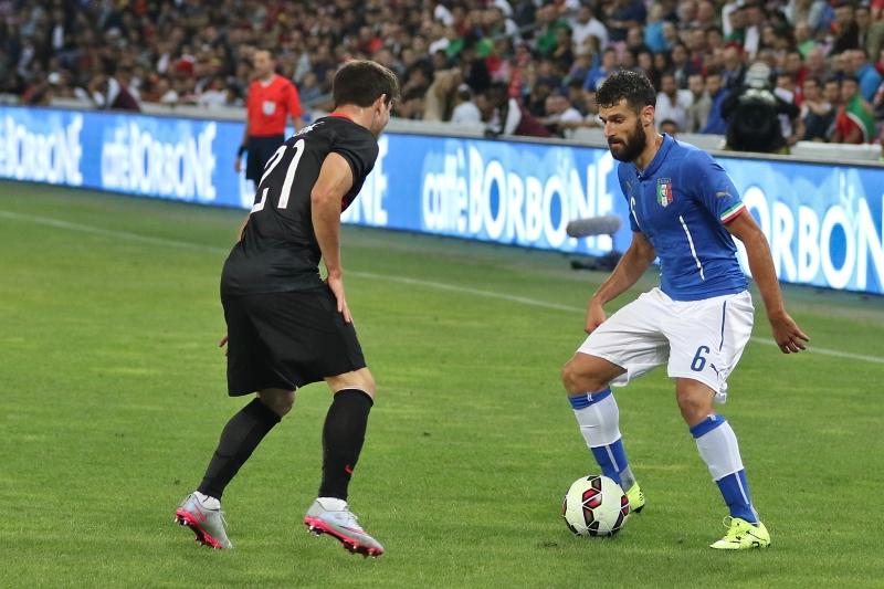 20150616 - Portugal - Italie - Genève - Antonio Candreva et Cédric Soares